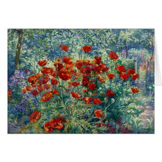 Juliette Wytsman: 花園 カード