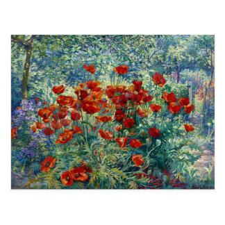 Juliette Wytsman: 花園 ポストカード
