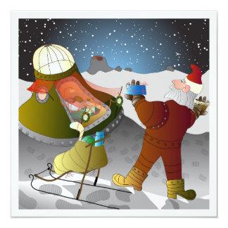 Julkortのmåntema カード