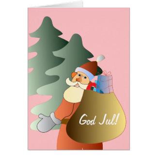Julkort medのtomte カード