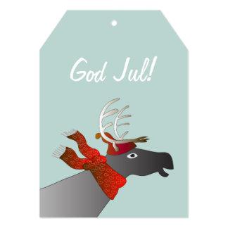 Julkort medはren カード