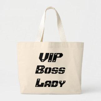 Jumbo Tote VIPのボスの女性 ラージトートバッグ