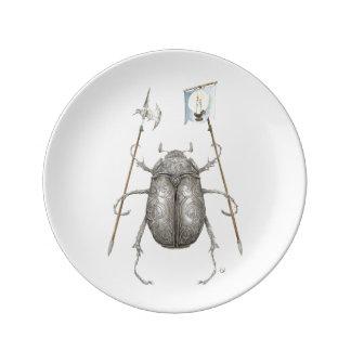 Junebugの騎士プレート 磁器プレート