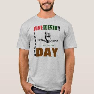 JUNETEENTHのティー Tシャツ