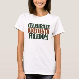 Juneteenthの自由 Tシャツ