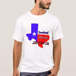 Juneteenthオースティン2012年 Tシャツ