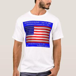 Juneteenth日(前部) Tシャツ