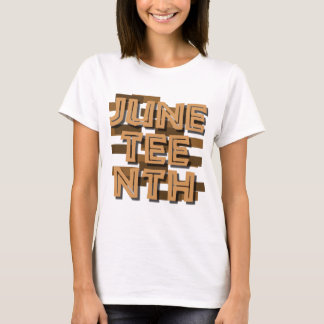 JUNETEENTH Tシャツ