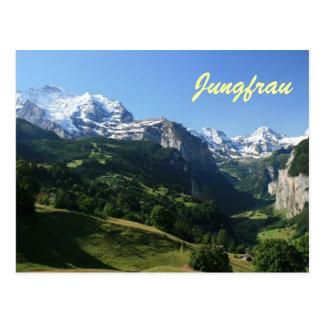 Jungfrauの谷 ポストカード