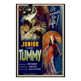 Junior the Uncanny in The Tummy! ポスター