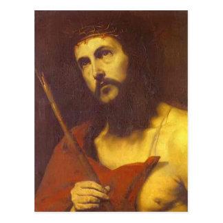 Jusepe de Ribera著イバラの冠のキリスト ポストカード