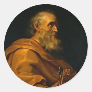 Jusepe de Ribera著セントピーター ラウンドシール