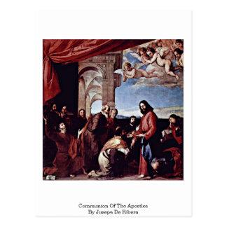 Jusepe De Ribera著使徒の聖餐 ポストカード