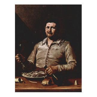 Jusepe de Ribera著好みのアレゴリー ポストカード