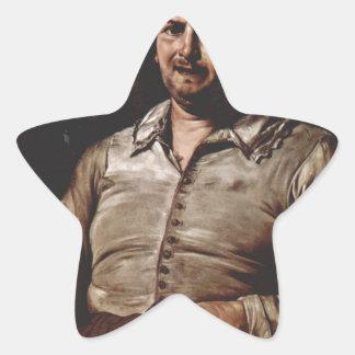 Jusepe de Ribera著好みのアレゴリー 星シール