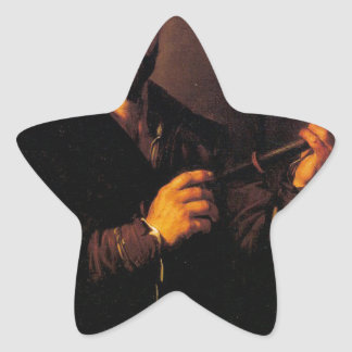 Jusepe de Ribera著視力のアレゴリー 星シール