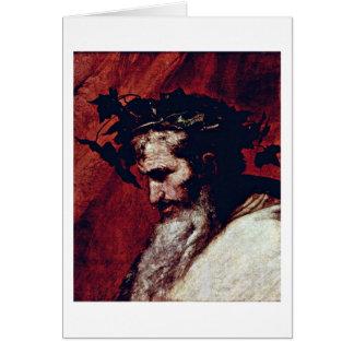 Jusepe De Ribera著Dionysos カード