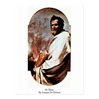 Jusepe De Ribera著St.エリアス ポストカード