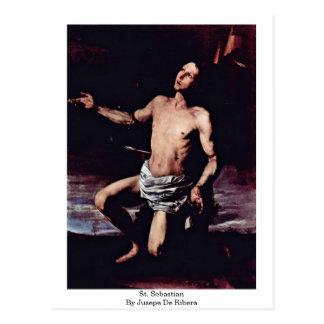 Jusepe De Ribera著St.セバスチャン ポストカード