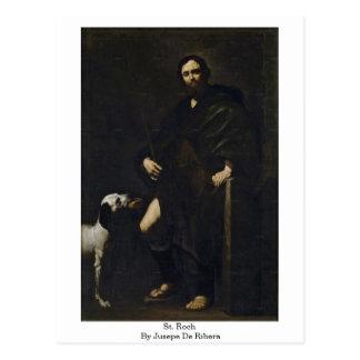 Jusepe De Ribera著St. Roch ポストカード