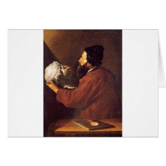 Jusepe de Ribera著Touchのアレゴリー カード