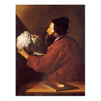 Jusepe de Ribera著Touchのアレゴリー ポストカード