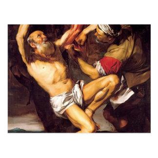 Jusepe Ribera著St Bartholomewの殉教 ポストカード