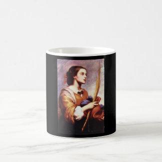 Justa', BartolomeエステバンMurillo_Portraits コーヒーマグカップ