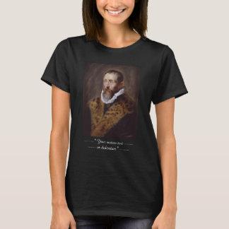 Justus LipsiusポールピーターRubensのポートレート Tシャツ