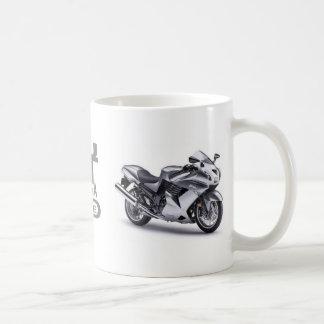 JustWannaRide ZX-14マグ コーヒーマグカップ
