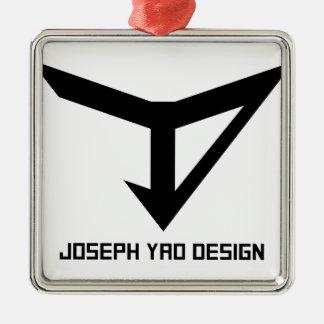 JYDのロゴ メタルオーナメント