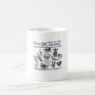 KのポッドのDorcaのクイズ コーヒーマグカップ