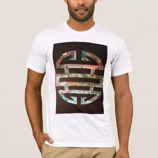 k0sherによる二重幸福の記号 tシャツ