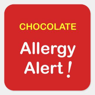 k1 -アレルギー警報-チョコレート スクエアシール