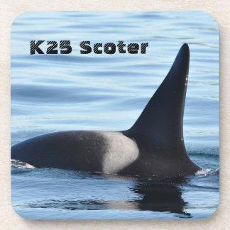 K25 Scoterのシャチのコースター コースター