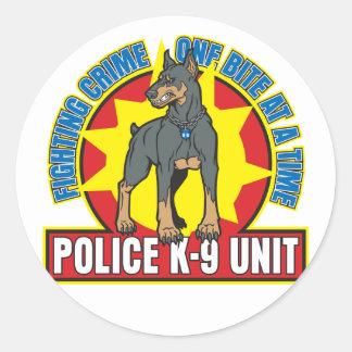 K9ドーベルマン犬のかみ傷 ラウンドシール