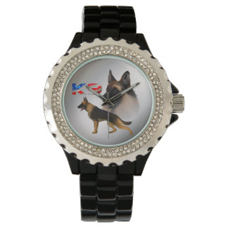 K9米国犬(羊飼い) 腕時計