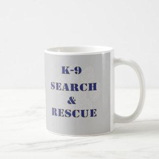 K9調査および救助 コーヒーマグカップ