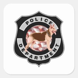 K9警察 スクエアシール