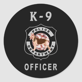 K9警察 ラウンドシール
