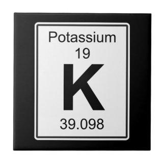 K -カリウム タイル