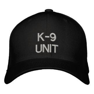 K-9単位 刺繍入りキャップ