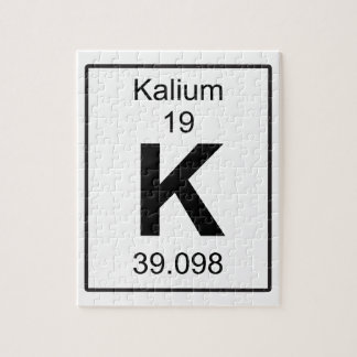 K - Kalium ジグソーパズル
