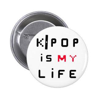 K-POPは私の生命です 5.7CM 丸型バッジ