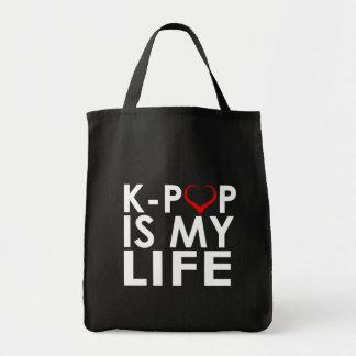 K-POPは私の生命♡です トートバッグ