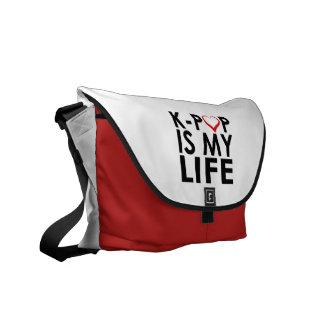 K-POPは私の生命♡です メッセンジャーバッグ