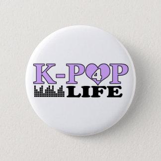 K-POP 4の生命 5.7CM 丸型バッジ