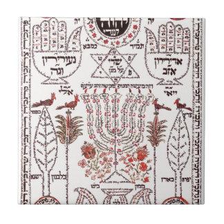 Kabbalahのデザイン タイル