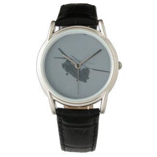 KABFAのデザインによるHelecopterのチヌック 腕時計