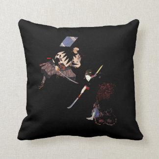 Kabuki Roninの最終的段階のSukiyakiの武士の忍者 クッション